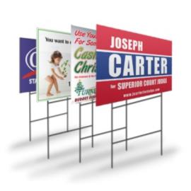 Lawn Sign Printing